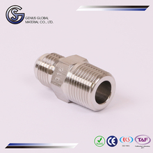 GS-E01 Hydraulic Hose Fittings Male Connector stainless steel micro tube 6mm holder