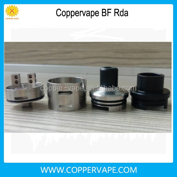 Much good feedback coppervape bf mod 10ml brass alu bottom feeder mod NEW bf rda