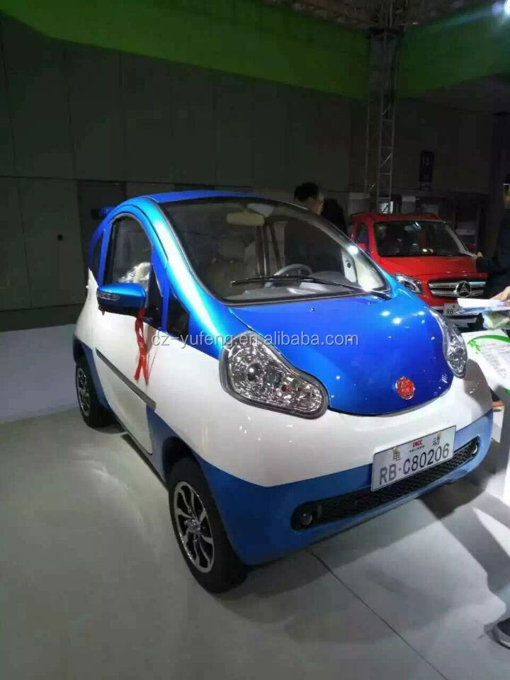 2016 Yufeng 4 wheel mini electric car for passenger