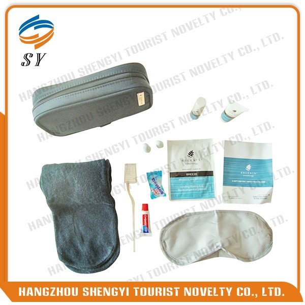 Custom first class disposable travel kits