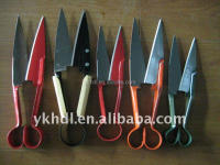 many type hand garden sheep wool scissors ,pruning shear,grass shear for cutting tool