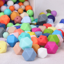 Kean Wholesale food grade silicone 9mm 12mm 15mm 19mm round beads for baby teething