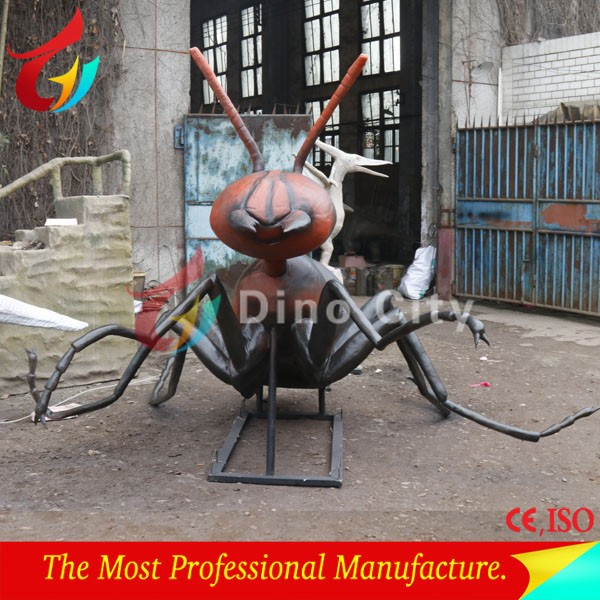 Theme Park Outdoor Realistic Giant Ant Animatronic Animal