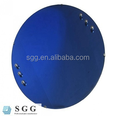 4mm 5mm 6mm Dark blue Tinted Mirror