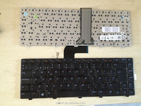wholesale Spanish Laptop keyboard for Dell INSPIRON 14R N4110 M5040 N5040 N5050 XPS 15 L502X X501L X502L 100% new