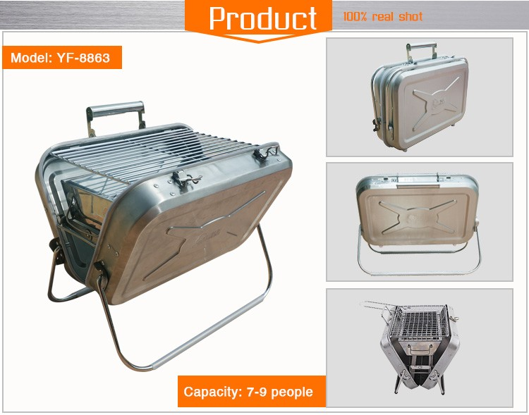 Yakitori barbecue grill for outdoor activities