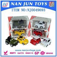 Fine workmanship OEM alloy die cast mini car model collection for superior quality