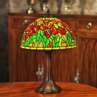 Factory offer Tiffany lamps , Tiffany table lamps desk lamps Tiffany stained glass gift lamp tulip