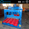 Glazed roof tile roll forming machinery for building material