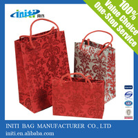 2014 luxury new design customized decorative handmade paper gift bags