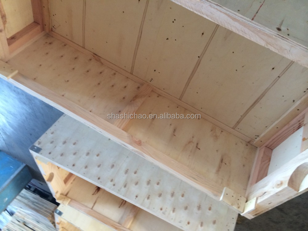 Wood,pine Material and Accept Custom Order large wooden crates