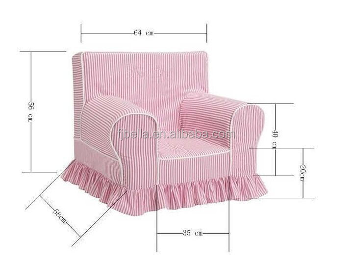 Kids Sofa Armrest Chair Couch Children Living Room Toddler Furniture (pink)Sofa Type and foam+ Fabric Material 2018 best sellin