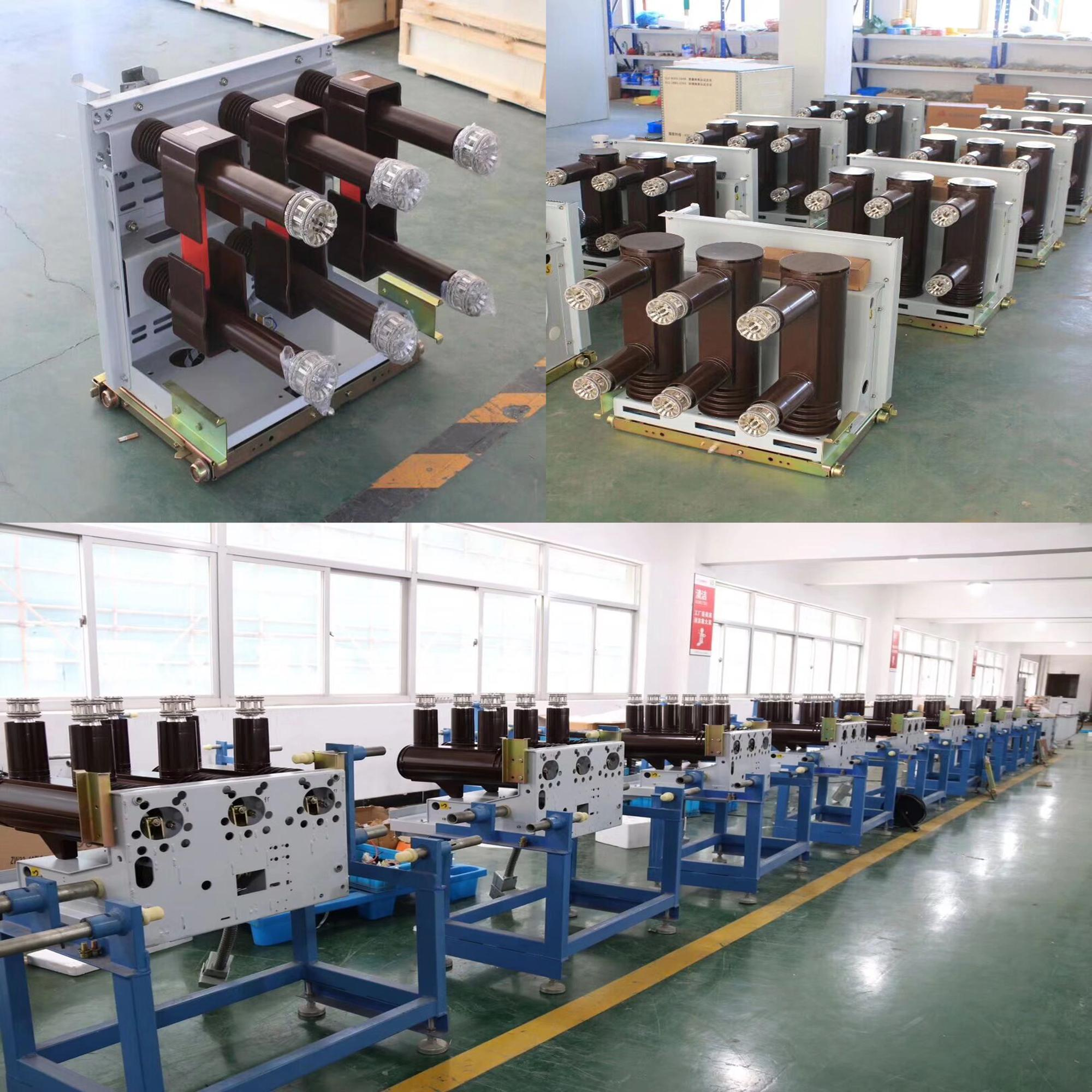 High quality Indoor Vacuum 31.5kv 2500a circuit breaker