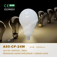 high lumen 24w led globe bulb e27 6500k