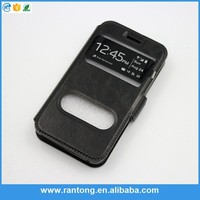 Factory Popular originality leather mobile phone case for iphone4 with good price