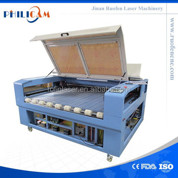 Ruofen cnc fabric laser cutting machine for textile