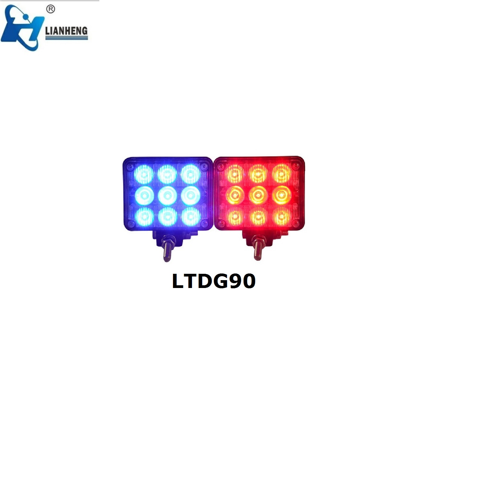 LED warning lights for police vehicle fire truck and motorcycle