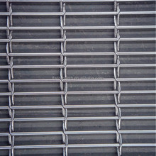 Artchitectural 304 316 stainless steel cable mesh for facade cladding