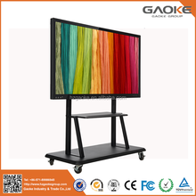 LED LCD Infrared multi touch interactive touch screen monitor flat panel with best price for education