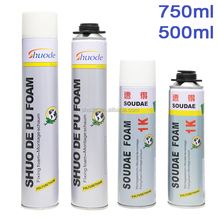 750ml cheap heat-resistant polyurethane foam