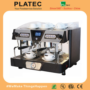 2018 Commerical Coffee Machine with two groups