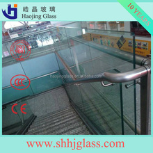 3mm-19mm tempered glass fence panels