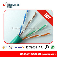 Green UTP Cat6 Network Cable for Computer
