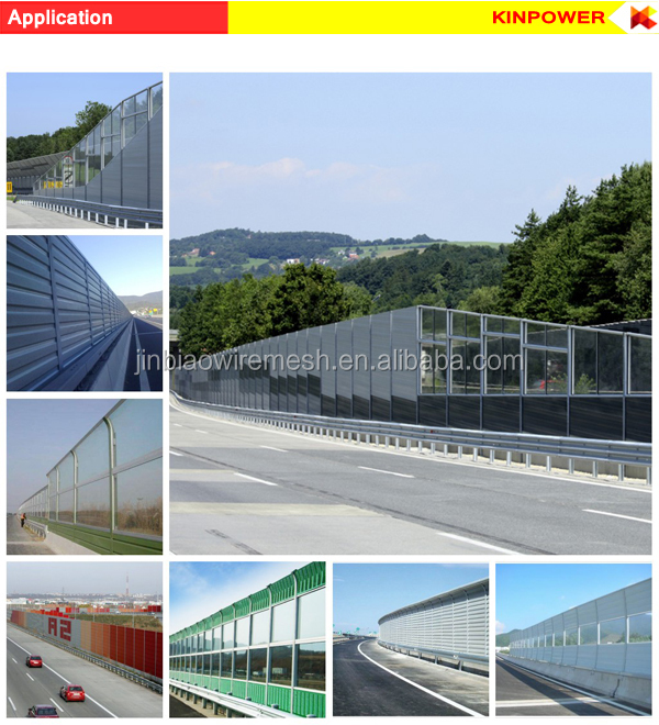 Noise barriers wall factory in China
