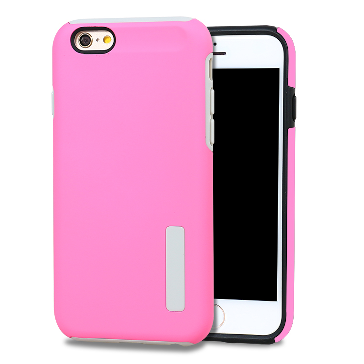 Wholesale TPU PC <strong>2</strong> in 1 Dual pro dropproof case for iphone 6 plus