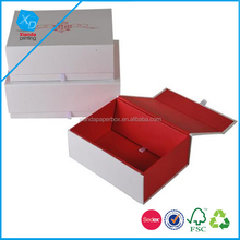 luxury magnet closure protection and storage Bulk price cardboard Folding Paper packaging Shoe box for women