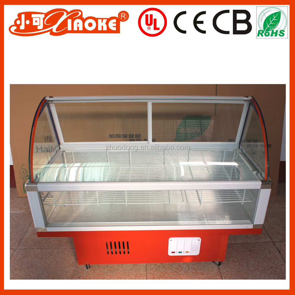 350L Refrigerated Display Cooler Type under counter freezer