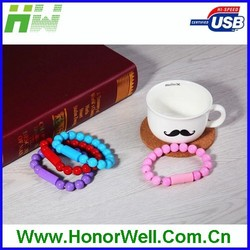 New model different color micro bracelet mini usb cable for gift or use