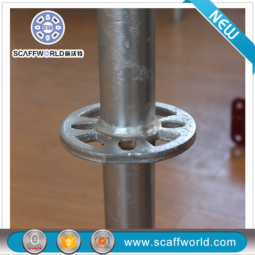 Most Safety Construction Material Hot Dip Galvanized Ringlock Scaffolding Diagonal Brace