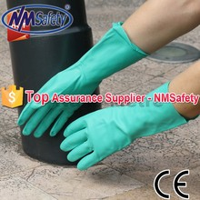 NMSAFETY long industrial rubber chemical resistant gloves