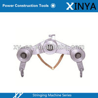 Three Wheel Structure Earthing Pulley Block