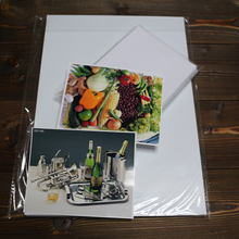 Pigment dye ink printing glossy photo paper resin coated a4 desktop photo paper for large format printing