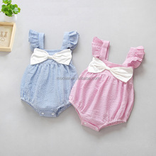 Infants & Toddlers Clothing girls bodysuit stripe Harness Baby rompers
