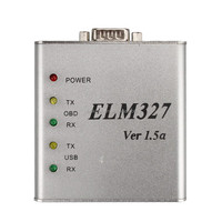 Highly Recommend ELM327 USB V1.5 Diagnostic Tool Aluminum Metal Case ELM327 V1.5 Works On Multi Cars ELM 327 Erase Fault Code