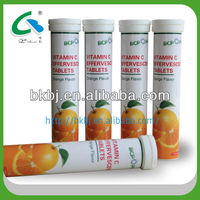OEM available vitamin C effervescent tablets,act energy drink