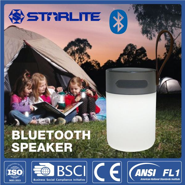 STARLITE led camping light mini bluetooth speaker with usb