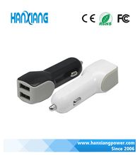2017 Smart chargers mobile charger galaxy/Note/ dual port 5V2A car charger