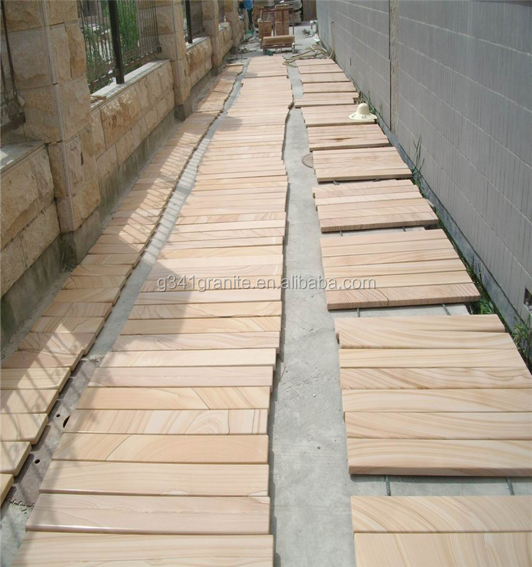 Professional and low price red sandstone for exterior wall house natural sandstone pavers