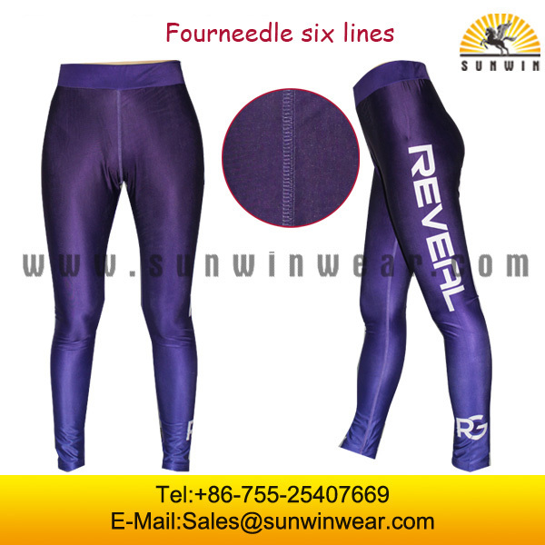 2015 Wholesale ladies sex quick dry yoga pants/gym legging