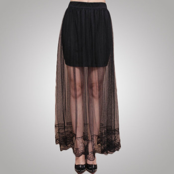 Hot Sexy Style latest design Two Piece long skirt in long design