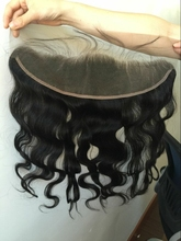 "1 pack 20"" lace frontal ear to ear Add to the Filipino body wave hair bundles(previous order) fast shipping"