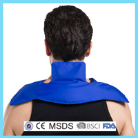 Nylon colorful gel cold and hot pack for shoulder