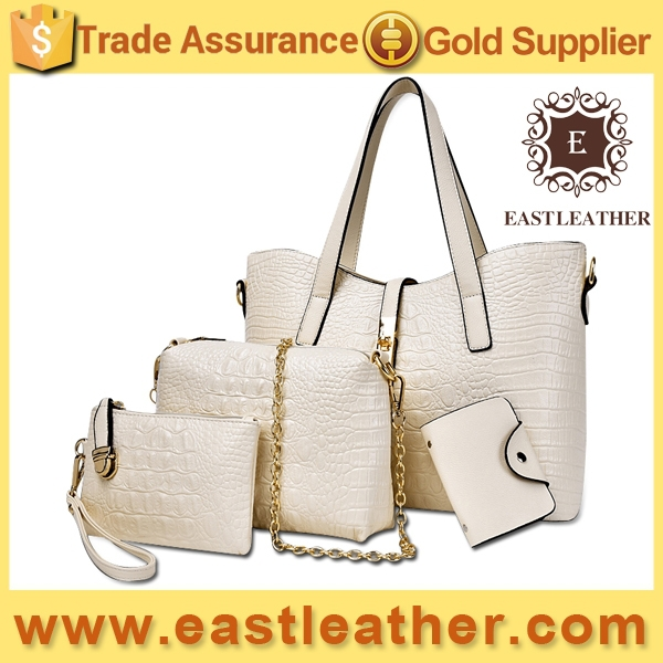 E1200 china wholesale 4pcs in1set 2015 new product ladies handbags