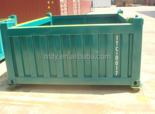 20ft half height open top offshore container