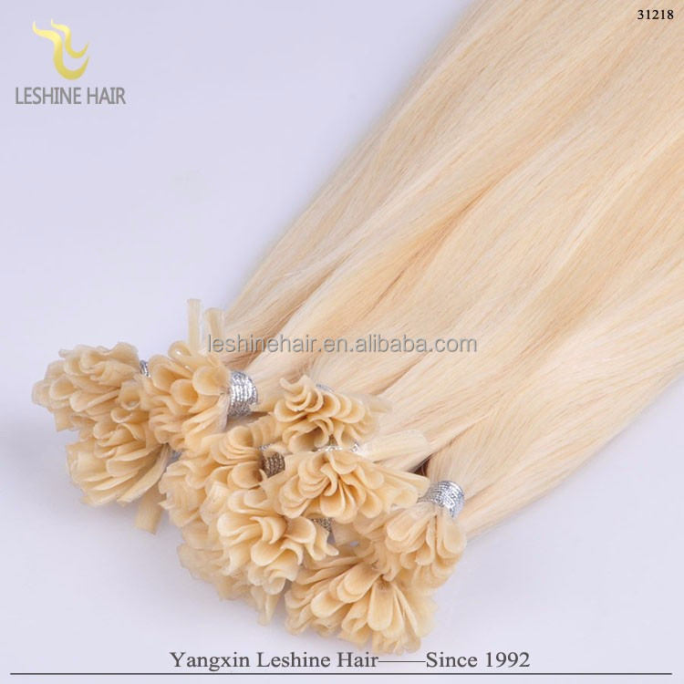 2016 Double Drawn Top Quality 100 Cheap Remy u tip Hair Extension Wholesale