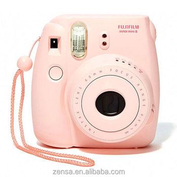 Polaroid kamera rosa